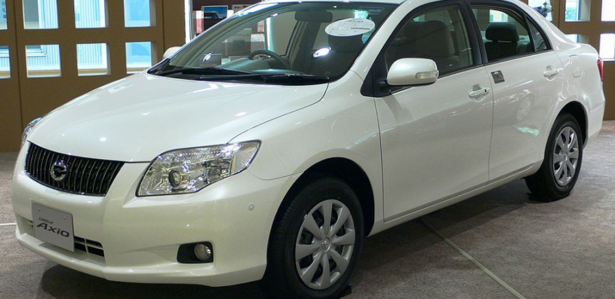 Toyota Axio 2009 In Silver For Sale In New Zealand