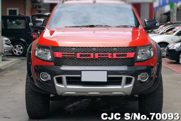 Ford Rangers Pickups 2015 Orange