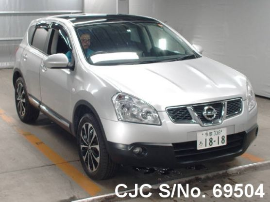 Nissan Dualis Silver