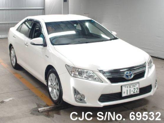 2012 Toyota Camry White