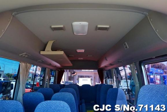 Toyota Coaster Bus Silver AT 2010