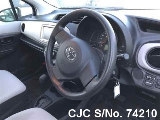 Toyota Vitz - Yaris Gray Automatic 2011